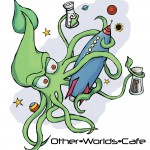 Other Worlds Cafe - Tshirt Design