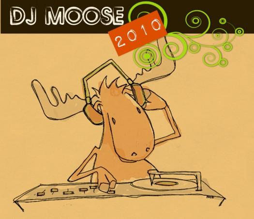 Website illustration - dj-moose.com